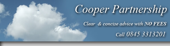 Cooper Partnership - Clear and concise advice with no fees.